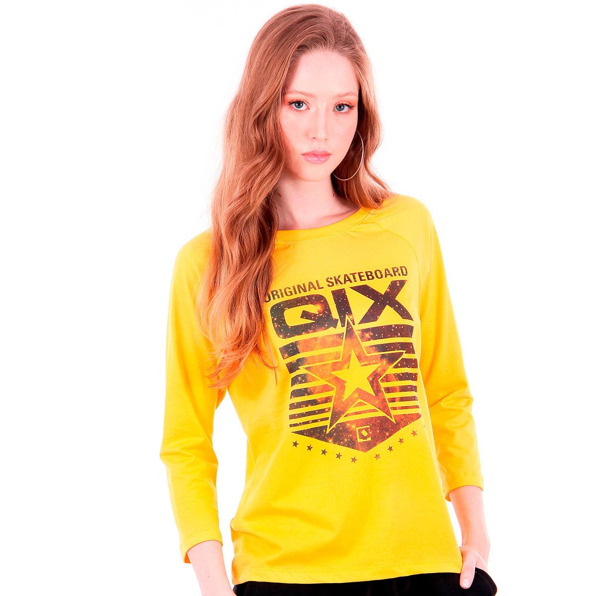 Camiseta Feminina 7/8 Qix Missy