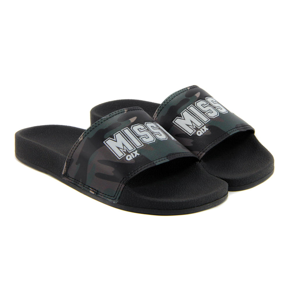 CHINELO MISSY SLIDE - MILITARY