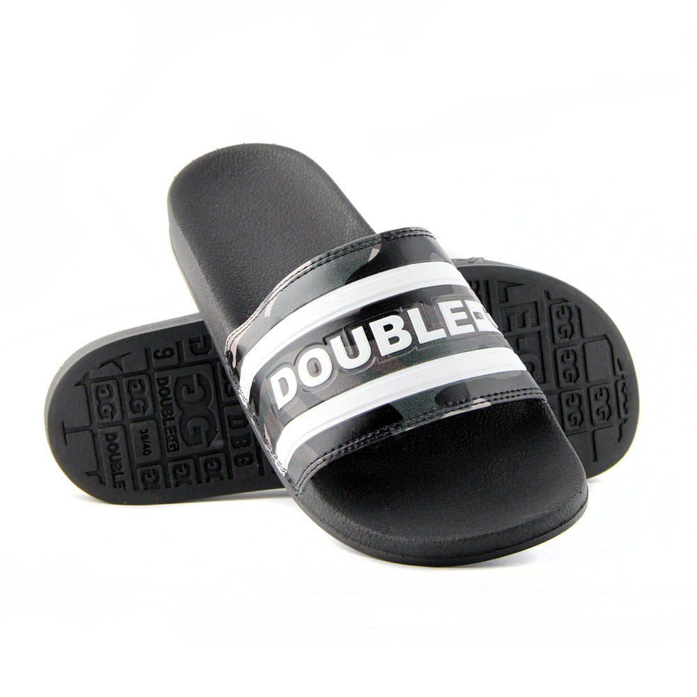 CHINELO SLIDE DOUBLE-G - CAMUFLADO
