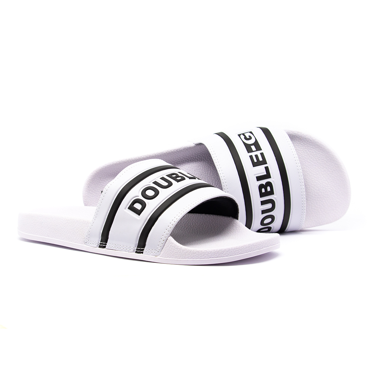 Chinelo Slide DOUBLE-G Striped
