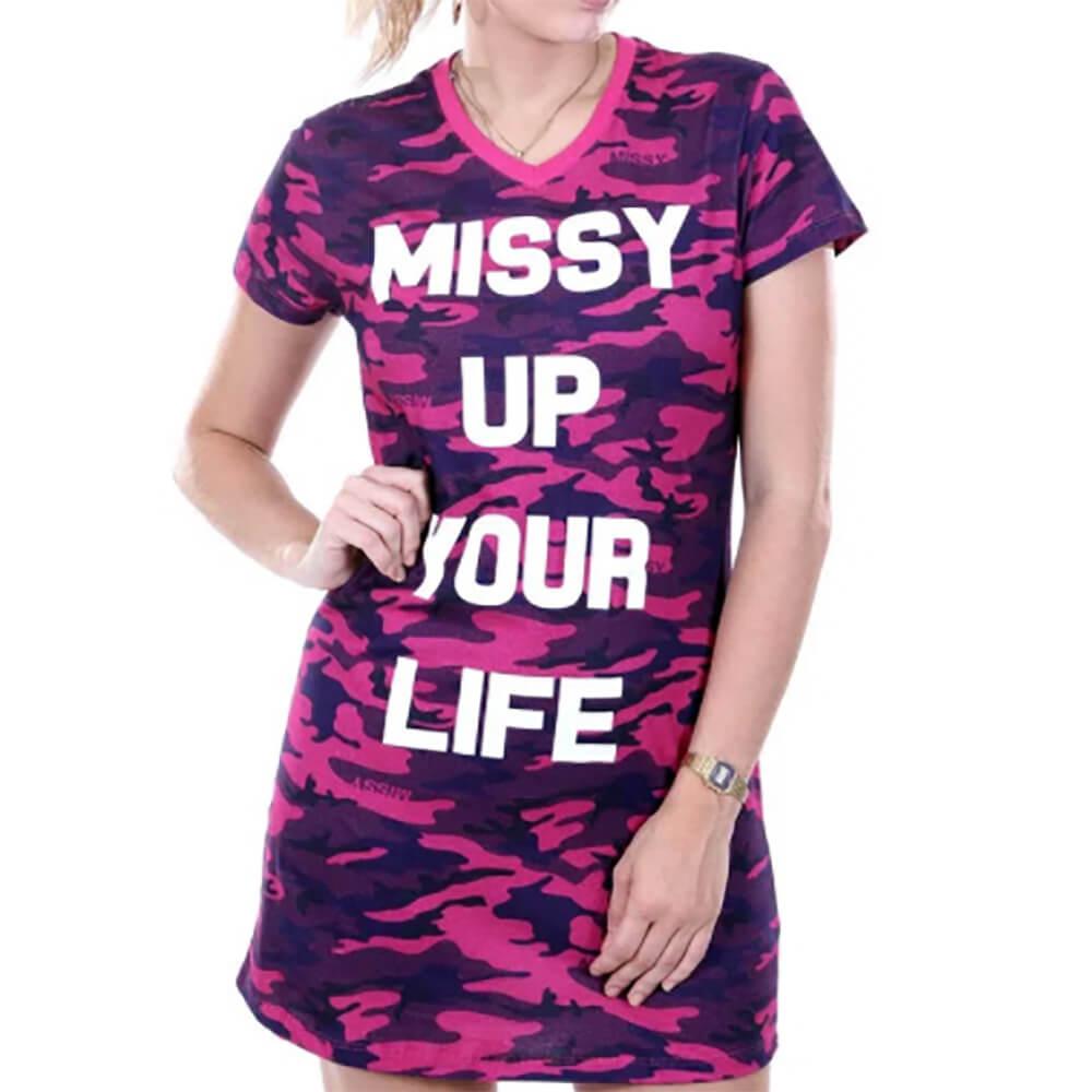 VESTIDO TEE DRESS QIX MISSY SPECIAL GIRLS ARMY