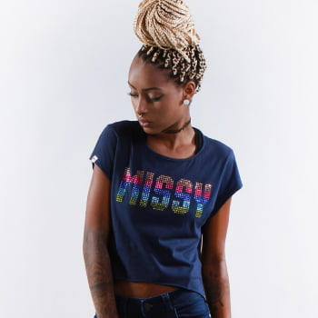 CROPPED MULLET QIX MISSY SUMMER RAINBOW