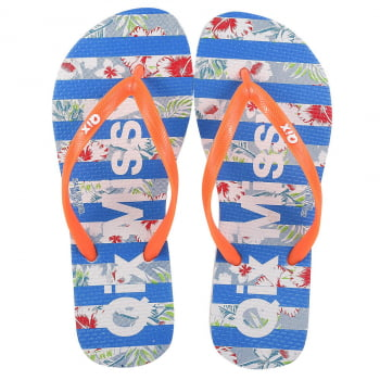 CHINELO FLIP FLOP QIX MISSY STRIPES