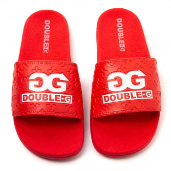 Chinelo Slide Double-G Logo Estampado V2
