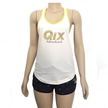 Camiseta Regata Feminina Classic Qix Missy