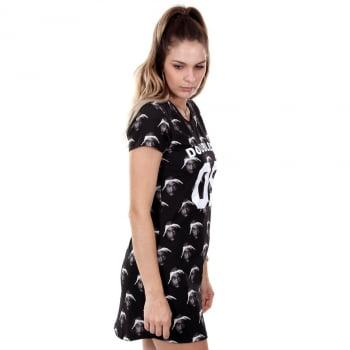 VESTIDO TEE DRESS DOUBLE-G SPECIAL TUPAC