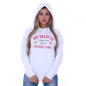 Moletom Canguru Feminino Qix Missy Californian Sport