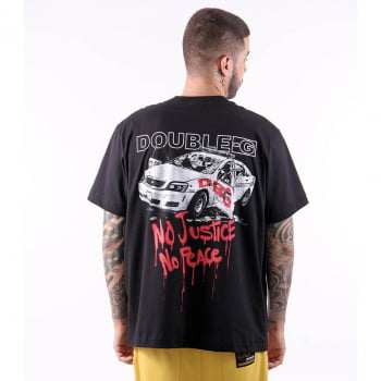Camiseta Double-G No Justice No Peace