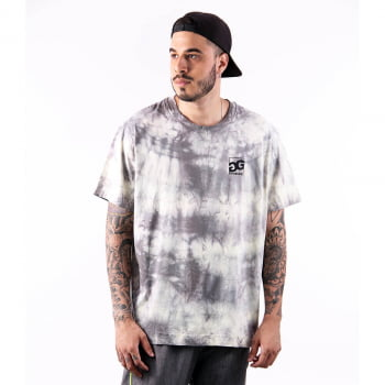 Camiseta Printed Double-G Tie Dye