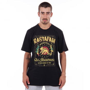 CAMISETA QIX ROOTS RASTA WITH LOVE