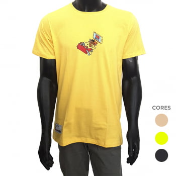 Camiseta Qix TV (Base dos anuncios)