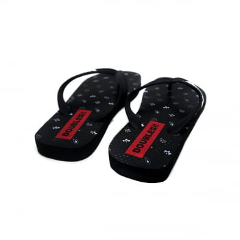 Chinelo Flip Flop Double-G Traits