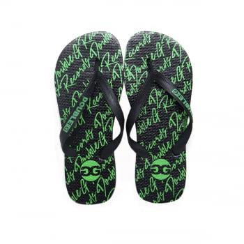 Chinelo Flip Flop Double-G Writing