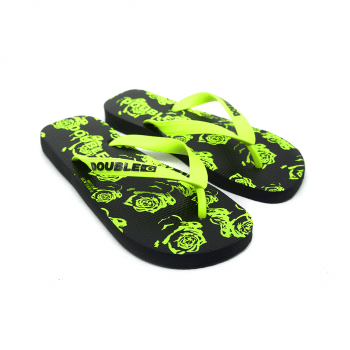 Chinelo Flip Flop Double-G Flowers