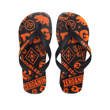 CHINELO FLIP FLOP DOUBLE-G ORANGE BEAR