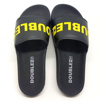Chinelo Slide Double-G Logo