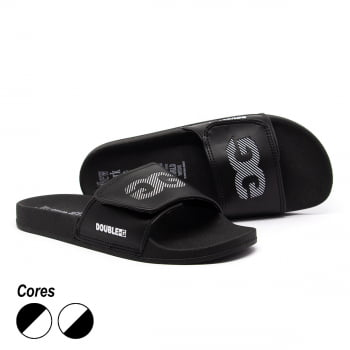 Chinelo Slide Double-G Velcro V2
